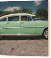 1953 Hudson Hornet Wood Print