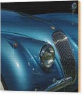 1953 Jaguar 120m  Wood Print