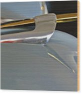 1953 Lincoln Capri Hood Ornament 2 Wood Print