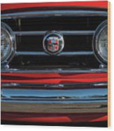 1953 Nash Healey Roadster Grille Wood Print