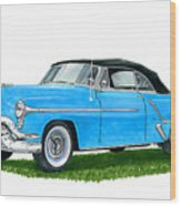 Oldsmobile 98 Convert Wood Print