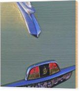 1953 Plymouth Hood Ornament Wood Print