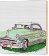 1953 Pontiac Chieftain Catalina H.t. Wood Print