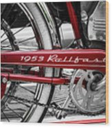 1953 Rollfast Wood Print