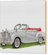 Rolls Royce Silver Dawn 1953 Wood Print