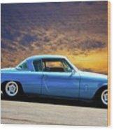 1953 Studebaker 'blue Streak' Commander Wood Print