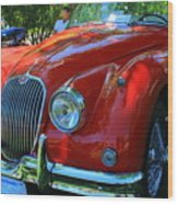 1953 Xk 150 Jaguar Wood Print