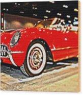 1954 Chevrolet Corvette Number 2 Wood Print