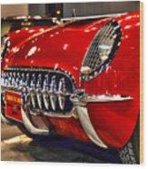 1954 Chevrolet Corvette Number 3 Wood Print