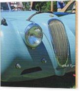 1954 Jaguar Xk Wood Print