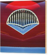 1954 Kaiser Darrin Grille Wood Print