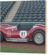 1954 Maserati A6 Gcs  Wood Print by Jill Reger