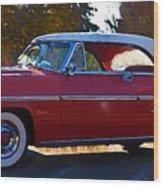 1954 Mercury Monterey Wood Print