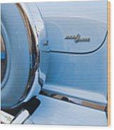 1954 Mercury Monterey Merc O Matic Spare Tire Wood Print