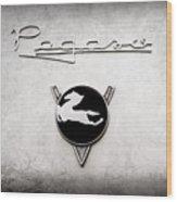 1954 Pegaso Z-102 Saoutchik Coupe Emblem -2218ac Wood Print