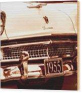 1955 Ford Fairlane Wood Print