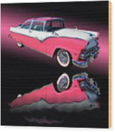 1955 Ford Fairlane Crown Victoria Wood Print