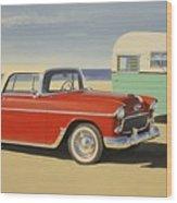 1955 Nomad Wood Print