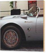 1955 Porsche 550 Rs Spyder . 7d 9411 Wood Print