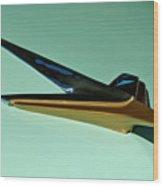 1955 Studebaker Hood Ornament Wood Print