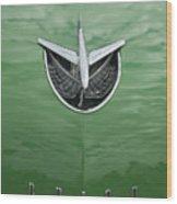 1956 Buick Hood Ornament Wood Print