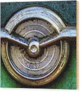 1956 Buick Special Emblem Wood Print