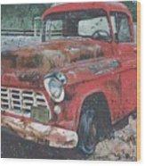 1956 Chevy Pickup Wood Print