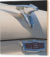 1956 Chrysler Soaring Falcon Hood Ornament Wood Print