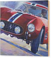 1956 Ferrari 250 Gt Berlinetta Tour De France Wood Print