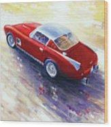 1956 Ferrari 410 Superamerica Scaglietti Series Wood Print