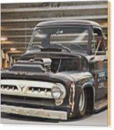 1956 Ford F100 'workingmans' Pickup I Wood Print