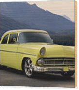 1956 Ford Fairlane Club Coupe Wood Print
