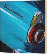 1956 Ford Thunderbird 2 Wood Print