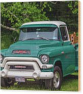 1956 Gmc Pickup Wood Print