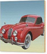 1956 Jaguar Xk 140 Mc Wood Print