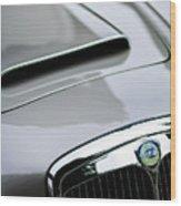 1956 Lancia Aurelia B24 Convertible Hood Emblem Wood Print