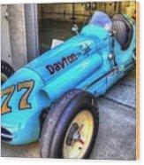 1956 Schroeder Roadster #77 Wood Print