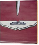 1957 Aston Martin Wood Print