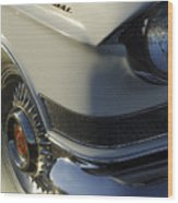 1957 Cadillac Front End Wood Print