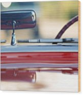 1957 Chevrolet Corvette Convertible  Wood Print