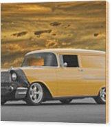 1957 Chevrolet Sedan Delivery II Wood Print