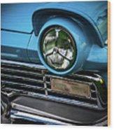 1957 Ford Detail Wood Print