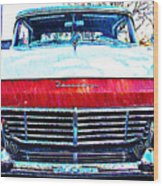1957 Ford Fairlane Wood Print