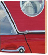 1957 Ford Thunderbird  Wood Print