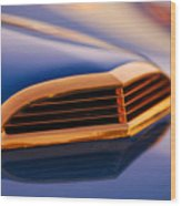 1957 Ford Thunderbird Scoop Wood Print