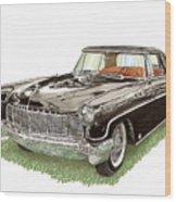 1957 Lincoln Continental Mk II Wood Print