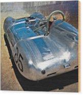 1957 Lotus Eleven Le Mans Wood Print