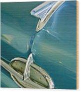 1957 Oldsmobile Hood Ornament 5 Wood Print