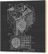 1958 Air Conditioner Patent Wood Print
