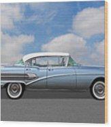 1958 Buick Roadmaster 75 Wood Print